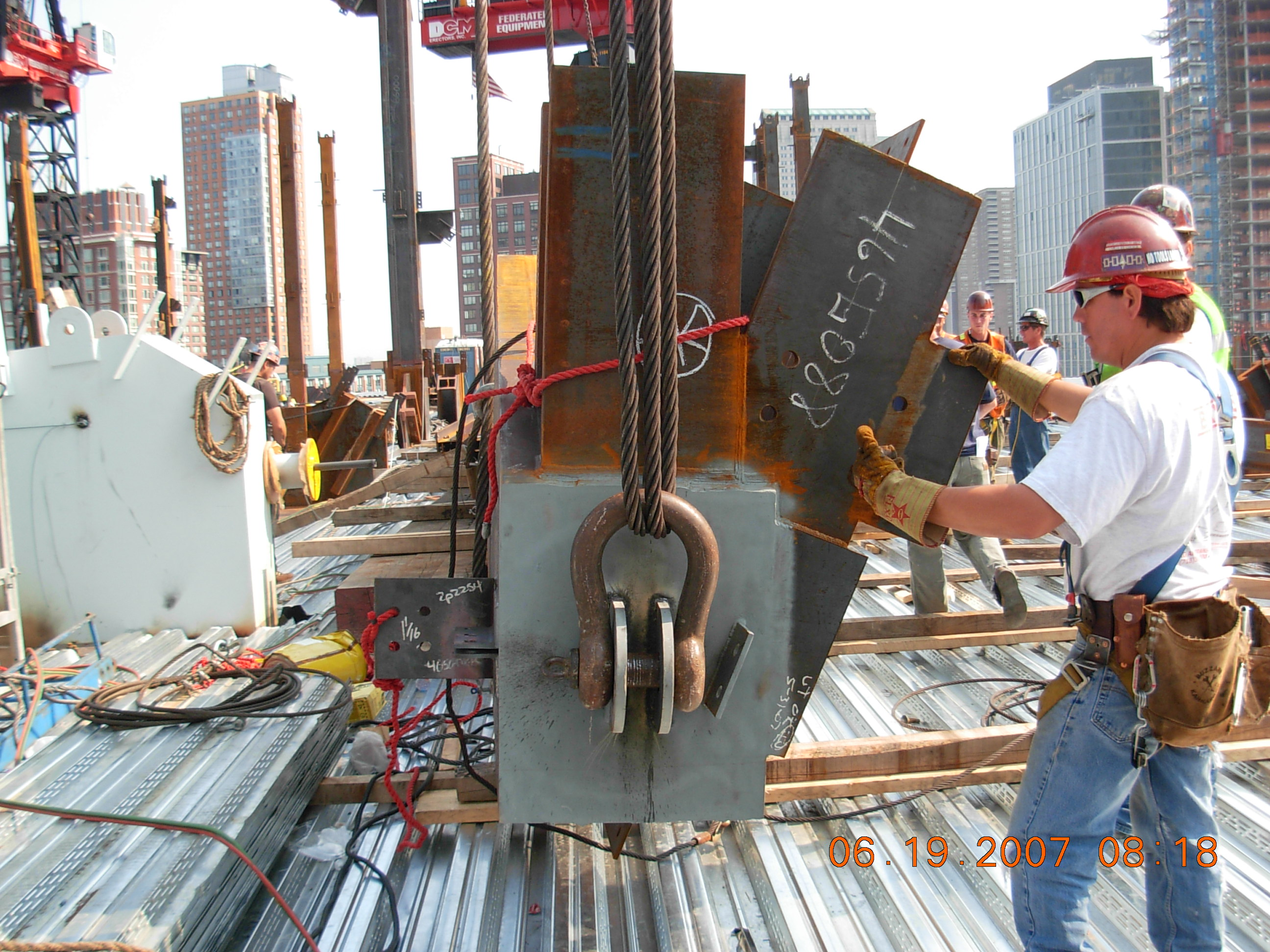Ironworkers on the Job – NYC IRON WORKERS